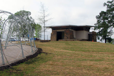 Restrooms and Water at Playground