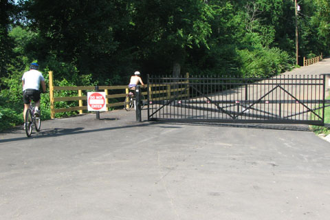 Gate on Stones River Road