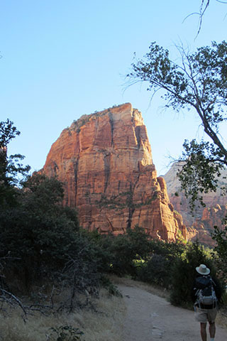 Angels Landing from the trail