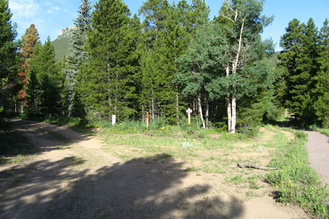 Trail through Picnic Grounds
