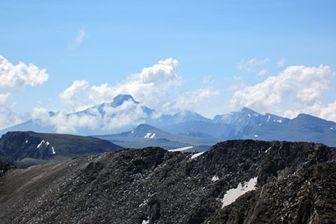 Longs Peak from the summit