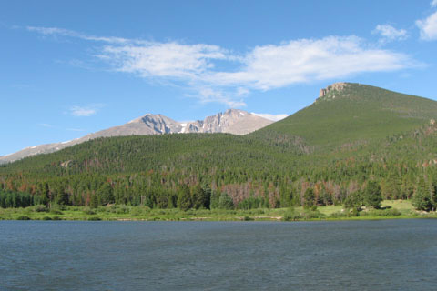 Estes Cone and Longs Peak