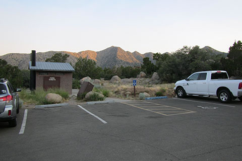 Trailhead Parking and Restroom