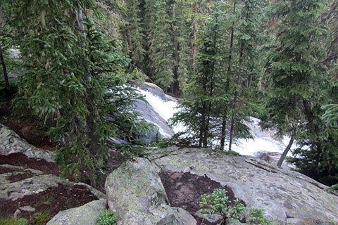 Granite Falls from the trail