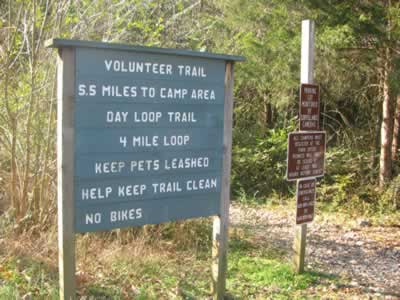 Bakers Grove Trailhead